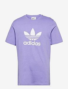 Adicolor Classics Trefoil T-Shirt - t-shirts - lpurpl/white