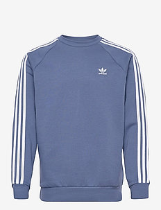 3-Stripes Crewneck Sweatshirt - basic sweatshirts - creblu