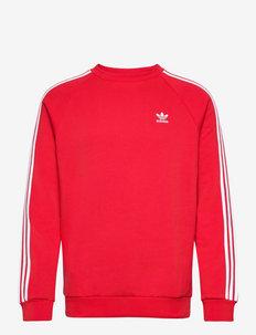 3-STRIPES CREW - basic sweatshirts - scarle