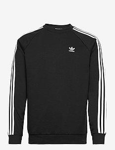 3-Stripes Crewneck Sweatshirt - sweats basiques - black
