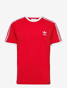 Adicolor Classics 3-Stripes T-Shirt - sports tops - scarle