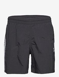 Adicolor Classics 3-Stripes Swim Shorts - badebukser - black