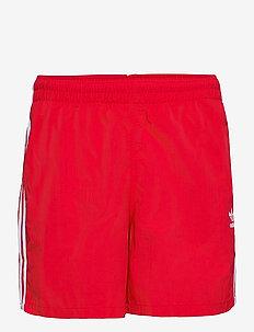 Adicolor Classics 3-Stripes Swim Shorts - badebukser - scarle