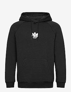 Adicolor 3D Trefoil Graphic Hoodie - hoodies - black