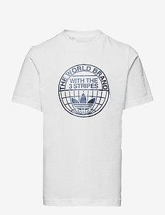 Graphic Print T-Shirt - kortärmade t-shirts - white