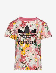 Her Studio London Floral T-Shirt - kurzärmelige - trapnk/multco/black