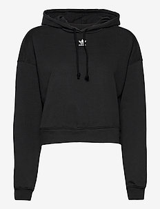Adicolor Essentials Hoodie W - hupparit - black