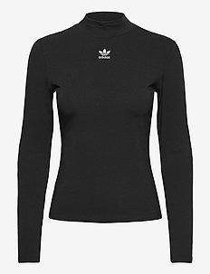 Adicolor Essentials Long Sleeve T-Shirt W - langarmshirts - black