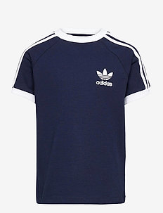 3-Stripes T-Shirt - kurzärmelige - conavy/white