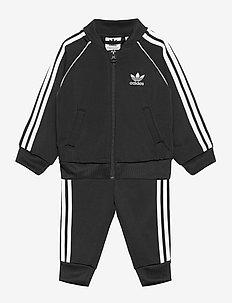 Adicolor Superstar Track Suit - dresy & zestaw 2 szt - black/white
