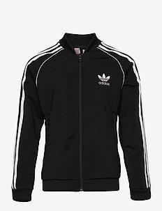Adicolor SST Track Jacket - sweatshirts - black/white