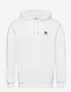 ESSENTIAL HOODY - basic sweatshirts - white/black