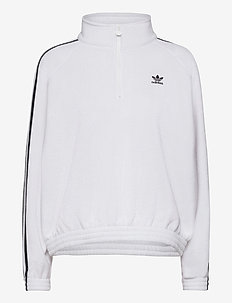 Adicolor Classics Polar Fleece Half-Zip Sweatshirt W - fleece - white/black