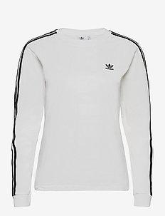 3STR LONGSLEEVE - hauts à manches longues - white/black