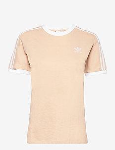 Adicolor Classics 3-Stripes T-Shirt W - sporttoppar - halblu