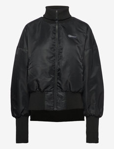 Elongated Rib Bomber Jacket W - veste sport - black