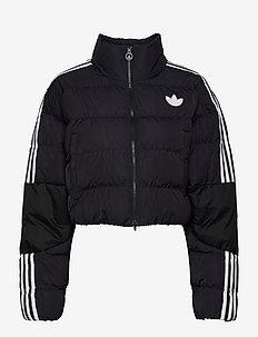 Short Synthetic Down Puffer Jacket W - veste sport - black