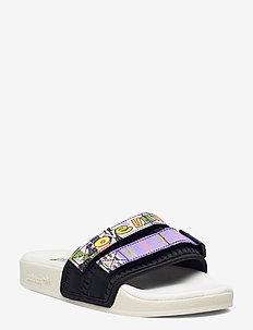 Adilette 2.0 Pride Slides - kengät - owhite/cblack/lpurpl