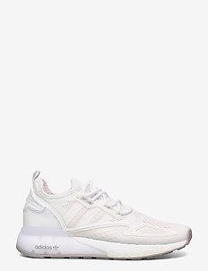 ZX 2K BOOST J - low-top sneakers - ftwwht/ftwwht/gretwo