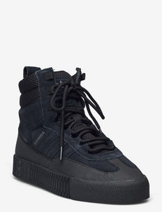 SAMBA BOOT W - sneakers med høy ankel - cblack/cblack/cblack