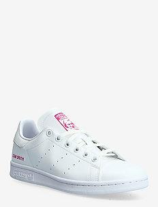Stan Smith J - sneakers - ftwwht/ftwwht/shopnk