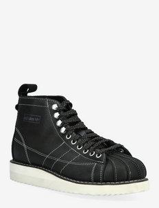 Superstar Boot - talon bas - cblack/owhite/owhite