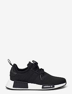 NMD_R1 Refined - low-top sneakers - cblack/cblack/ftwwht