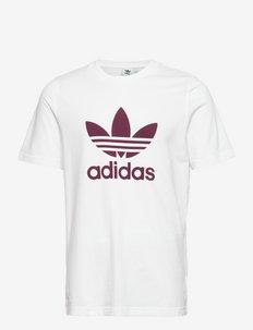 Adicolor Classics Trefoil Tee - t-shirts - white/viccri