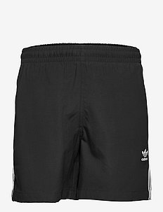 Adicolor Classics 3-Stripes Swim Shorts - shorts - black