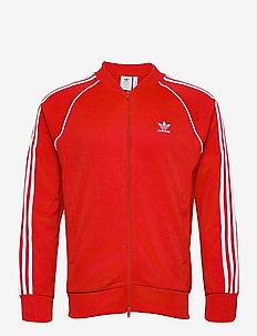 Adicolor Classics Primeblue Superstar Track Jacket - sweaters - red/white