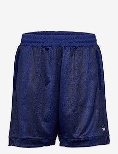 SPRT Snakeskin-Print Shorts - casual shorts - vicblu/black