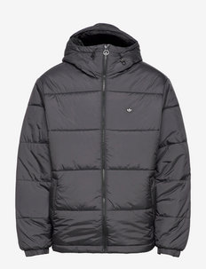 Padded Hooded Puffer Jacket - donsjassen - black
