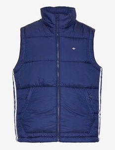 Padded Stand-Up Collar Puffer Vest - urheilutakit - ngtsky