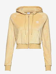 Crop Full Zip Hoodie W - hoodies - hazbei