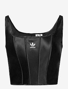 Corset W - crop tops - black