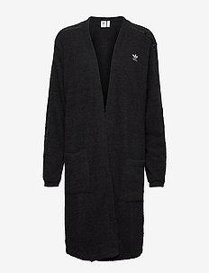 Kimono W - gebreid - black