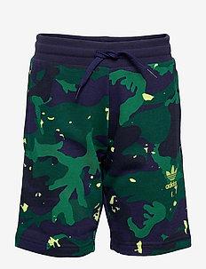Allover Camo-Print Shorts - sportsshorts - ngtsky/multco