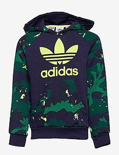 Camo-Print Hoodie - hoodies - ngtsky/ngtsky/multco