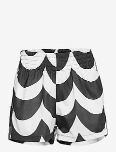 Marimekko Laine Shorts W - casual shorts - black/white