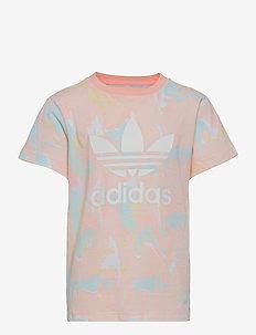 Allover Print Marble Tee W - kortærmede t-shirts - pnktin/multco