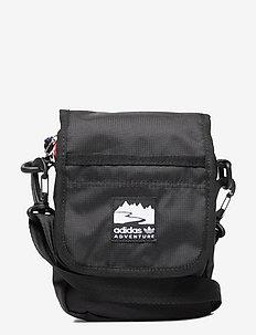 Adventure Flap Bag Small - uutuudet - black/brired/white