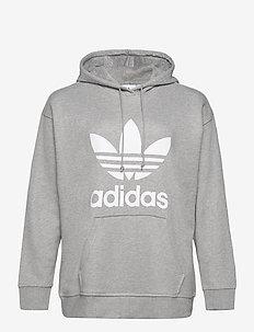 Trefoil Hoodie (Plus Size) W - hoodies - mgreyh