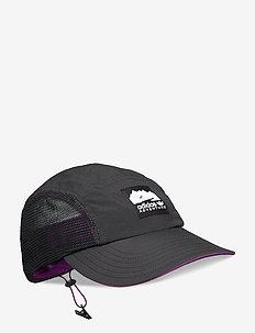 Adventure Runner's Cap - kepurės su snapeliu - black/gloprp