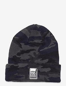 Camo Knit-Cuff Beanie - mössor - gresix/black/legink/c