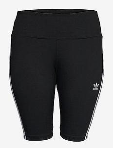 Adicolor Classics Primeblue HW Short Tights (Plus Size) W - cycling shorts - black