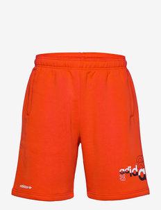 Logo Play Shorts - short décontracté - red