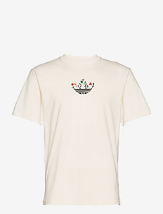 Trefoil Bloom Tee - t-shirts - nondye