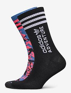 Adventure Socks 2 Pairs - skarpety - multco/black