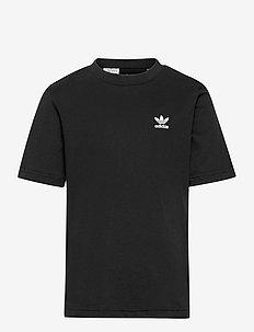 Adicolor Tee - kortærmede t-shirts - black/white