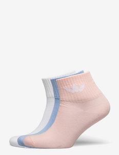 Mid-Ankle Socks 3 Pairs - skarpetki - white/clesky/hazcor/h